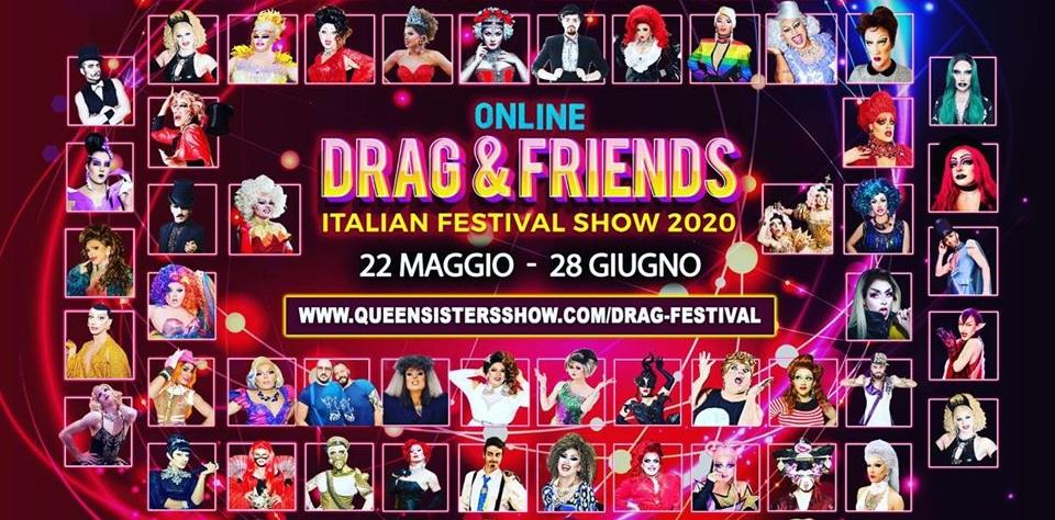 Drag & Friends: drag queen e performer queer in un festival online tutto italiano