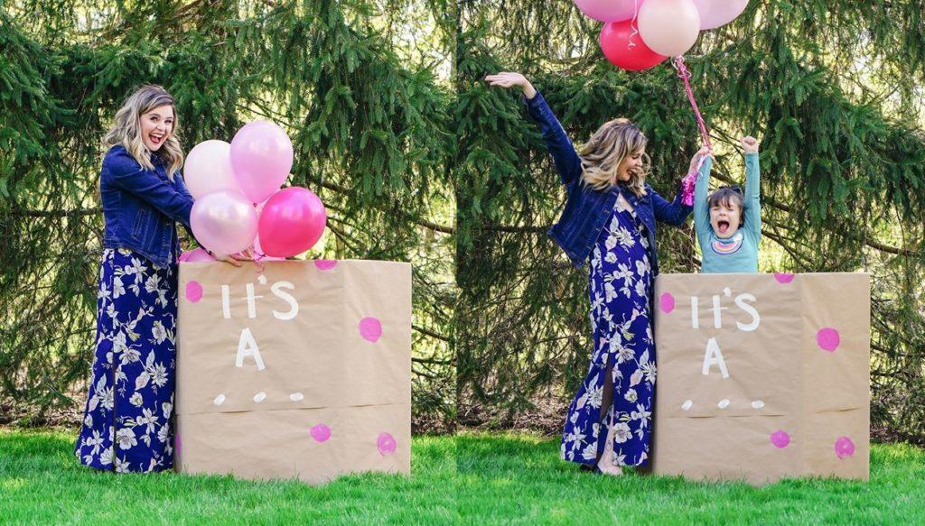 Madre organizza una festa di rivelazione per la figlia transgender