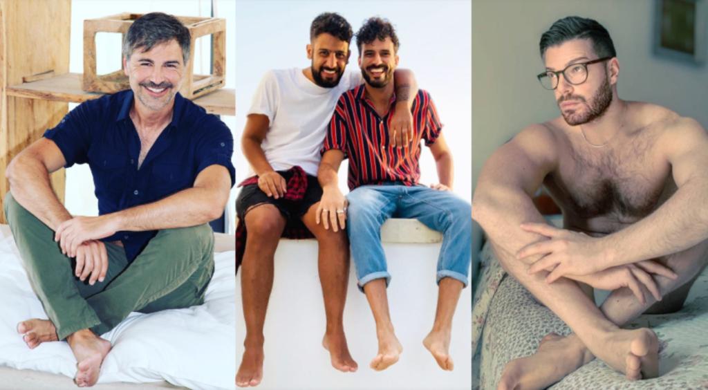 Queeride è scalza con Beppe Convertini, Marco Bianchi, Pasqualino Maione