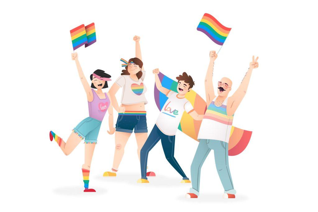 Il Pride 2020 è anche dal vivo: flash mob, cortei e mostre in Italia