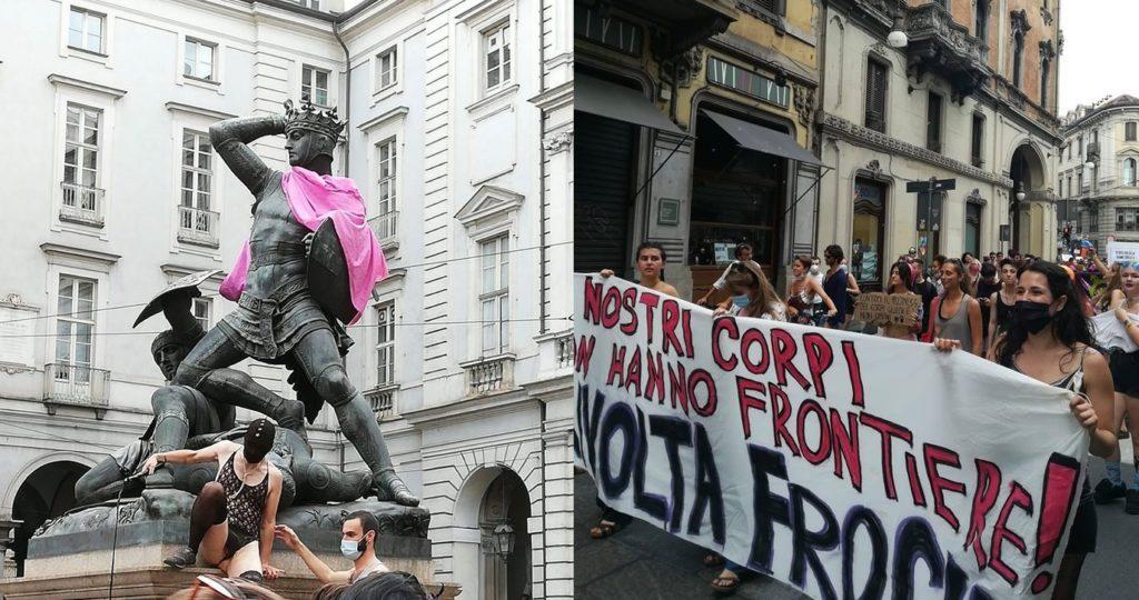Free-K Pride, a Torino la «rivolta frocia» rende queer anche il Conte Verde