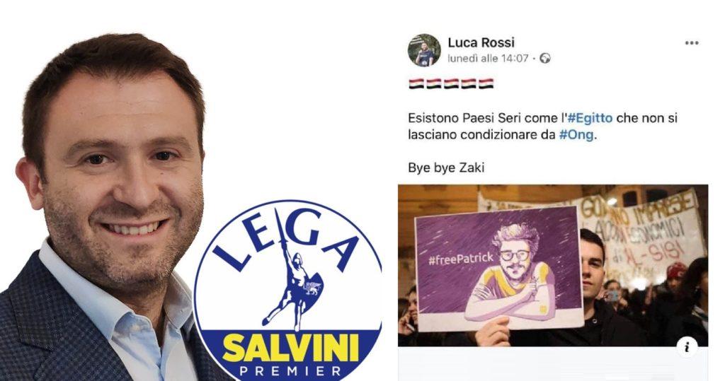 Esponente della Lega plaude alla prigionia di Patrick Zaki in Egitto: «Bye bye»