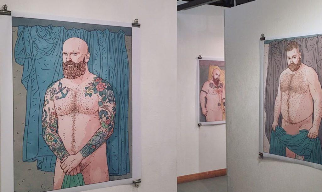 LOVED: gli orsi messi a nudo in un progetto artistico contro gli stereotipi