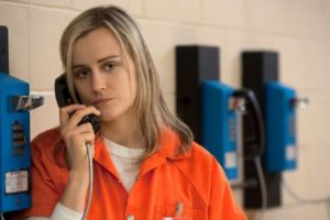 Orange Is The New Black, l'attrice Taylor Schilling ha una storia con Emily Ritz