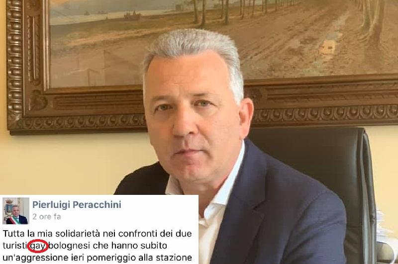 """La Spezia, polemiche sul post del sindaco sull'aggressione: sparisce la parola """"gay"""""""