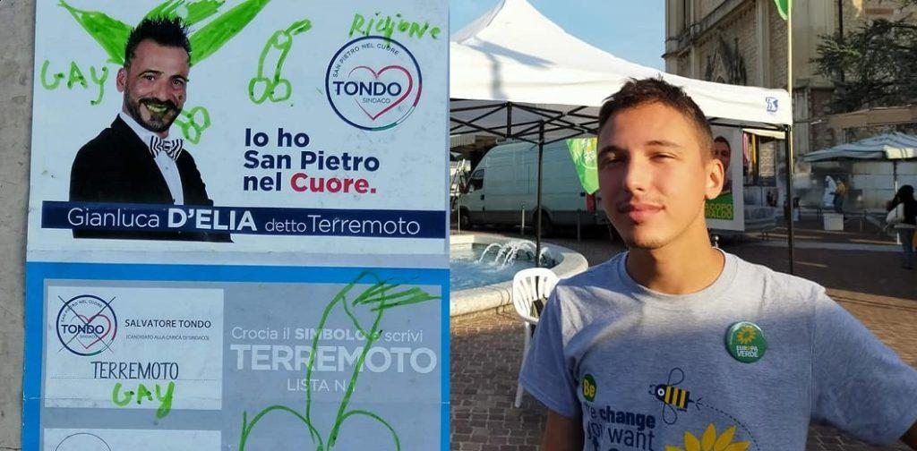 Attacchi omofobi a due candidati alle prossime elezioni in Veneto e Puglia