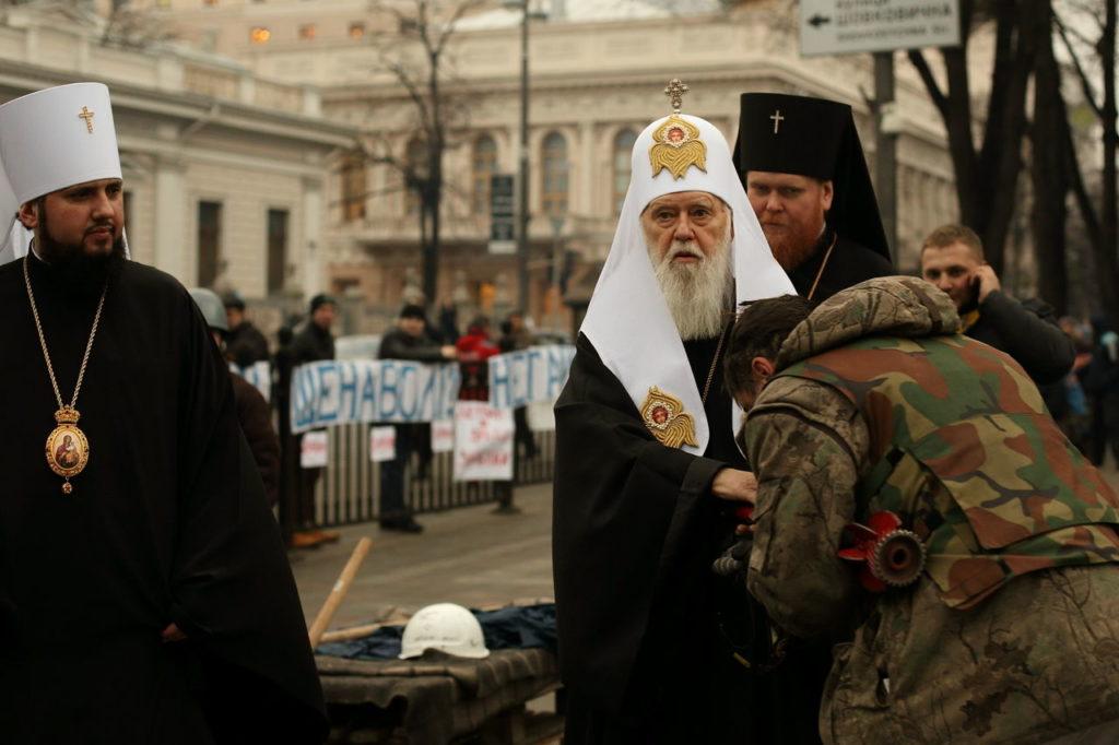 Covid-19, ricoverato l'arcivescovo ortodosso Filaret. Diede la colpa del virus ai matrimoni gay