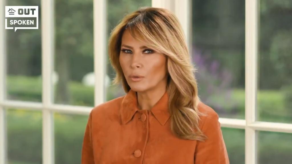 """Melania Trump è scioccata che qualcuno possa pensare che suo marito sia """"anti-gay"""""""