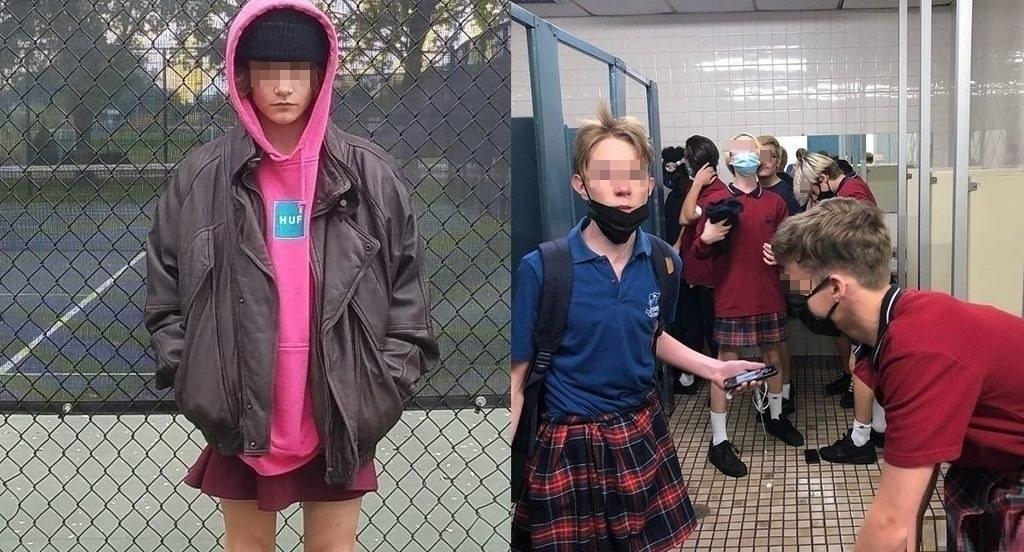 Studenti canadesi protestano contro il dress code indossando la gonna