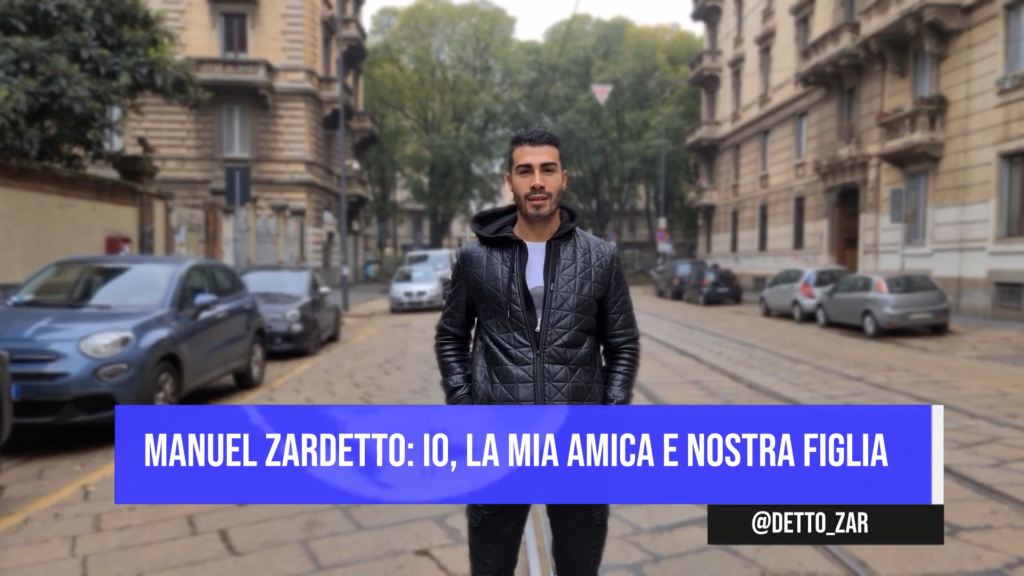 Manuel Zardetto: io, la mia amica e nostra figlia