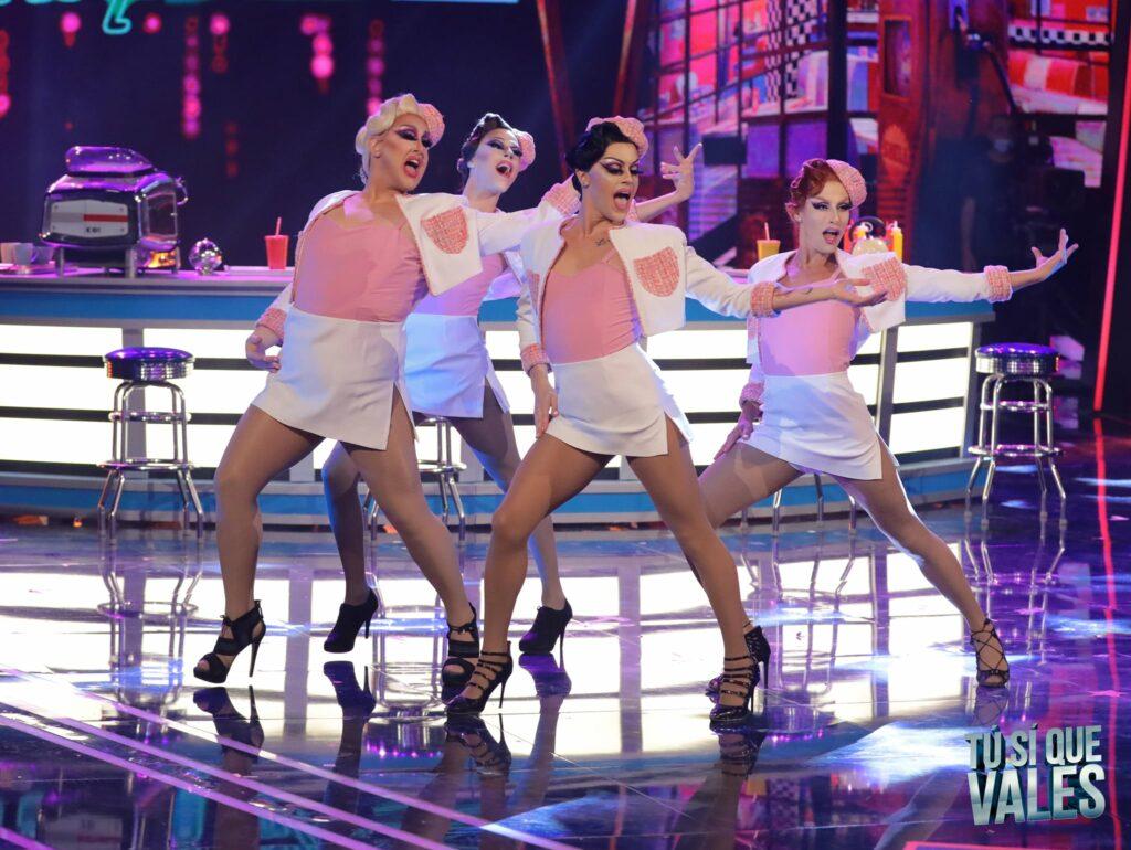 Doppelgangers: 4 drag queen conquistano il pubblico di Tù Sì Que Vales