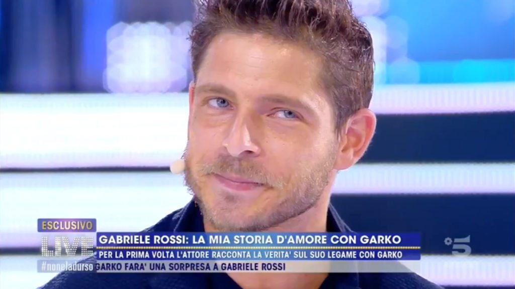 Gabriele Rossi fa coming out e racconta la sua storia finita con Gabriel Garko