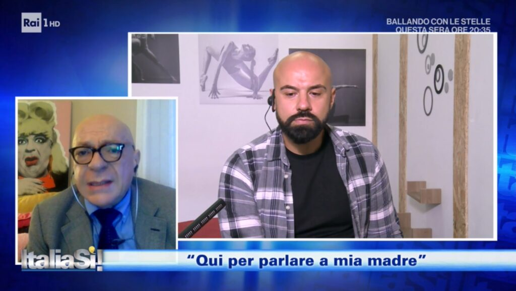 Viene cacciato di casa dalla madre omofoba, ma a ItaliaSì! viene colpevolizzato