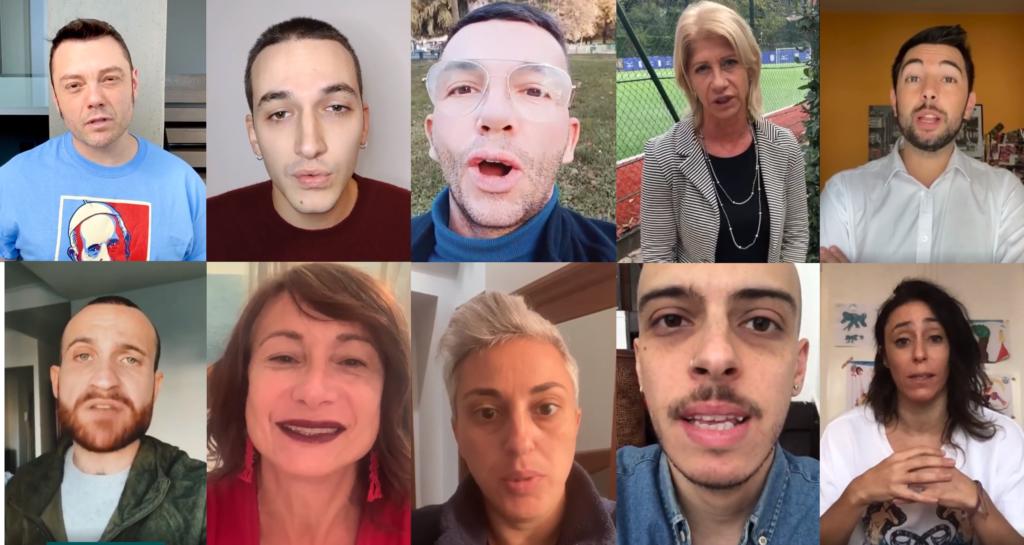 «Sì Giorgia Meloni, siamo sicuri di volere la legge Zan»: esponenti del mondo LGBT+ rispondono al benaltrismo con un video