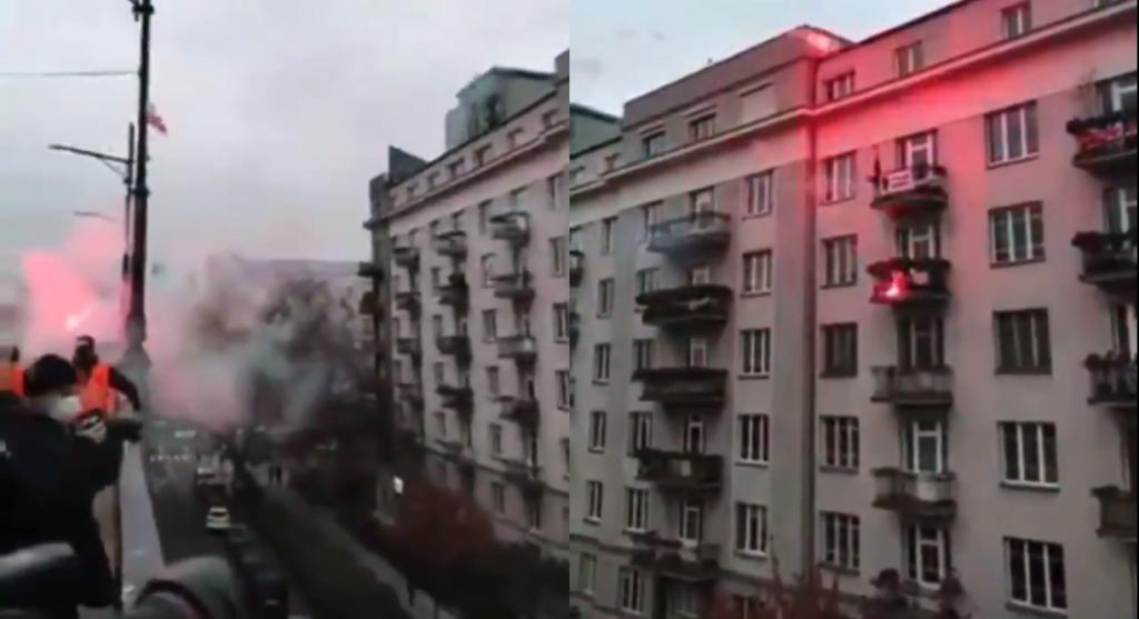 Varsavia, attacco omofobo dell'estrema destra: incendiato un appartamento