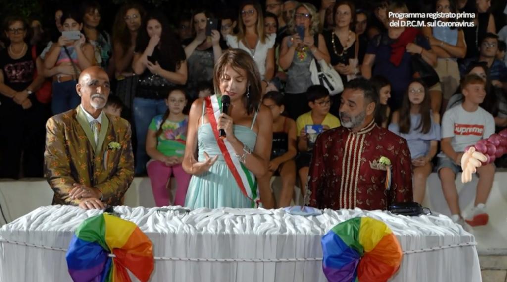 Le nozze di Giovanni Minerba e Damiano a Giortì, il programma con Gemma Galgani
