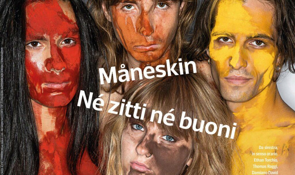 Sanremo 2021, i Maneskin si spogliano e parlano di libertà sessuale