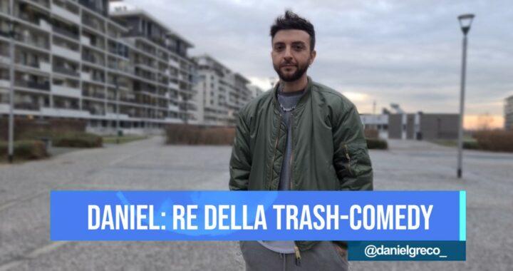 Daniel Greco: il re della trash-comedy italiana a QweerTea Live