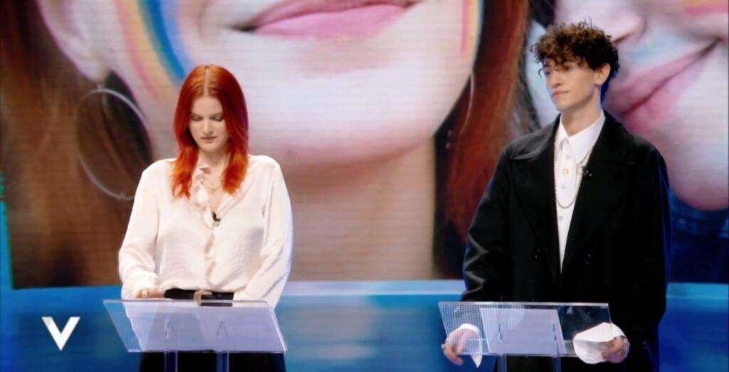 Michele Bravi e Chiara Galiazzo insieme contro l'omotransfobia a Verissimo