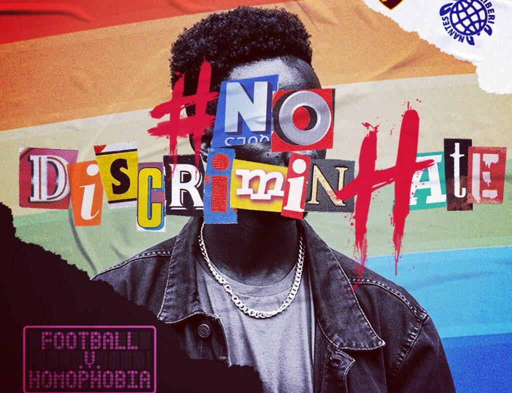 #NoDiscriminHate: calciatori contro omofobia e razzismo