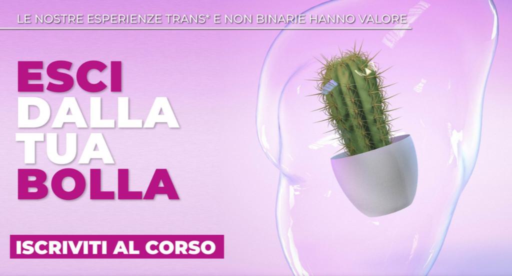 """Nasce """"Trans-azioni"""", la piattaforma italiana per la formazione delle persone trans"""