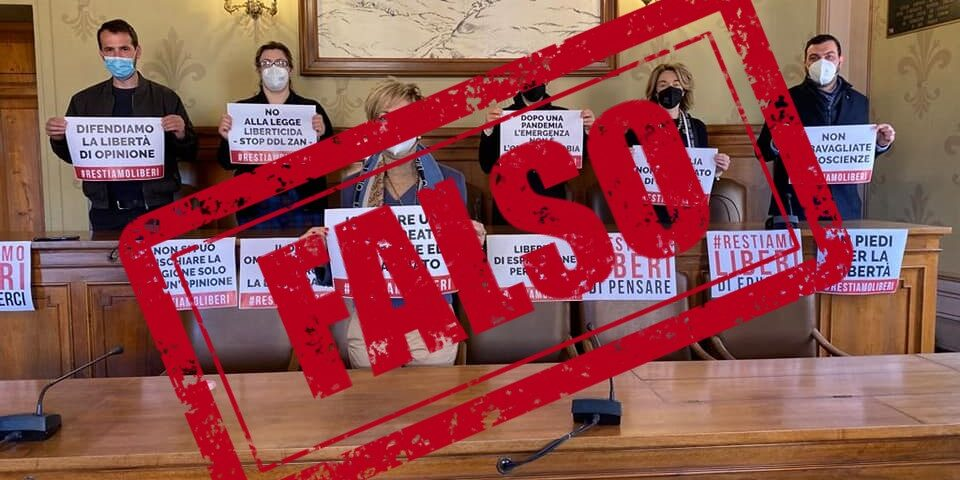 Ddl Zan, proteste e disinformazione nell'aula del consiglio comunale di Marsciano (PG)