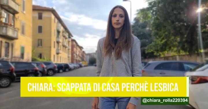 Costretta a scappare di casa perché lesbica: Chiara racconta la sua storia
