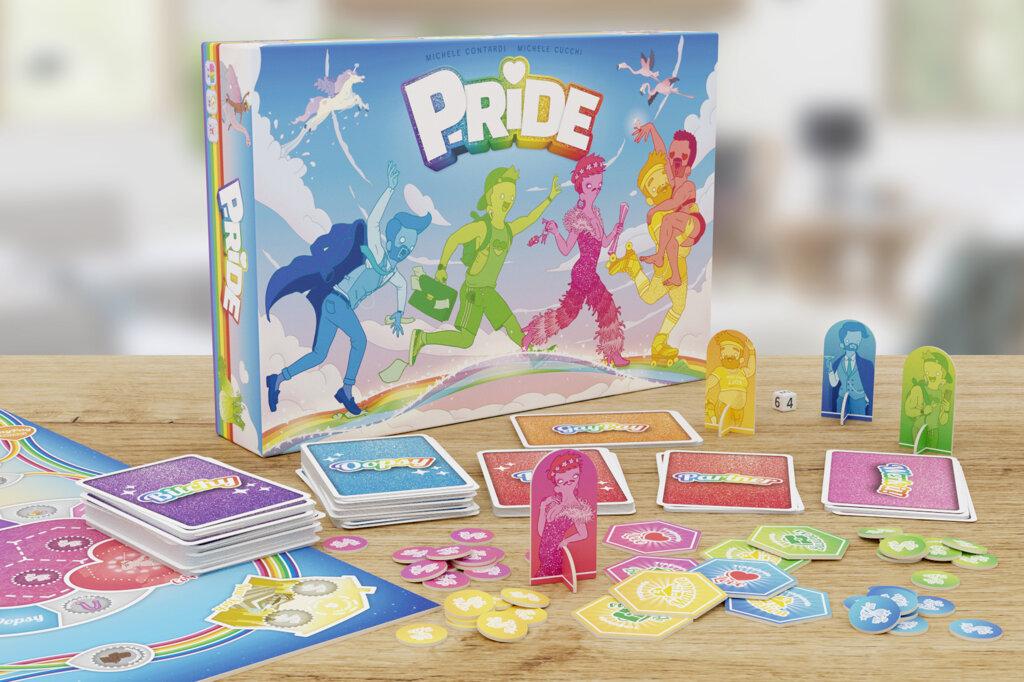 P-ride, il gioco da tavolo che ti fa diventare un ragazzo gay