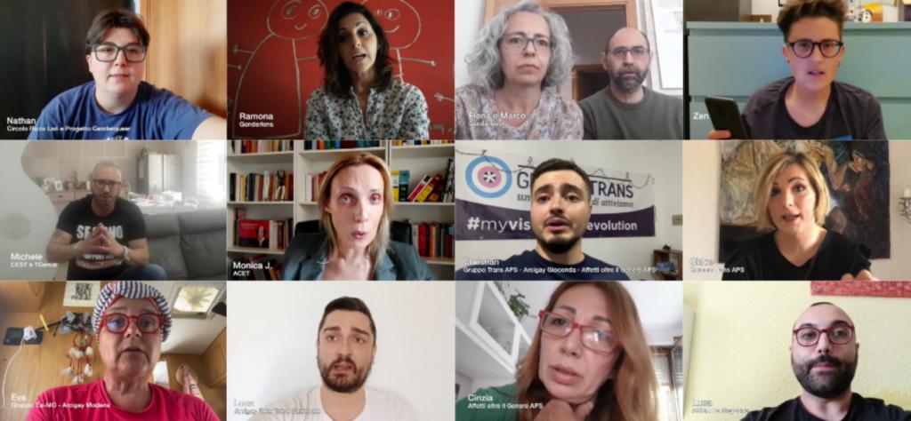 #maisenzadinoi: la presa di parola transgender e non binary contro la transfobia dei media