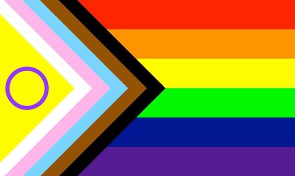 La nuova bandiera arcobaleno includerà anche le persone intersessuali