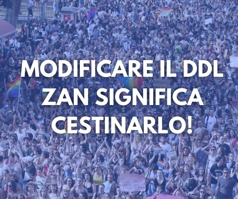 Ddl Zan, il movimento LGBT+ contro la mediazione proposta da Barbara Masini