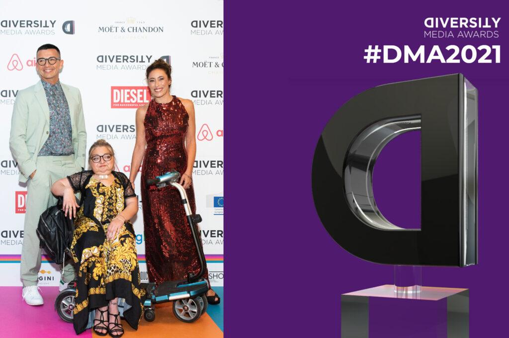 Ferragnez premiati come personaggio dell'anno ai Diversity Media Awards 2021: tutti i vincitori