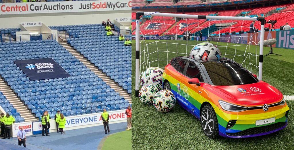 L'UEFA punisce i cori omofobi dell'Ungheria: multa e partite a porte chiuse