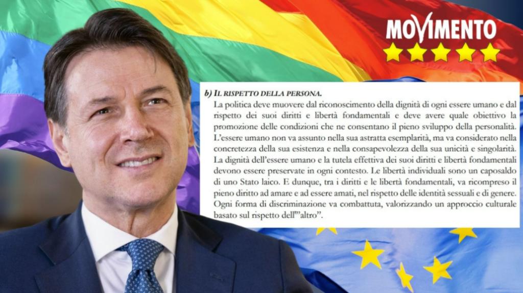 Il M5S inserisce le identità sessuali e di genere tra i diritti fondamentali dello statuto