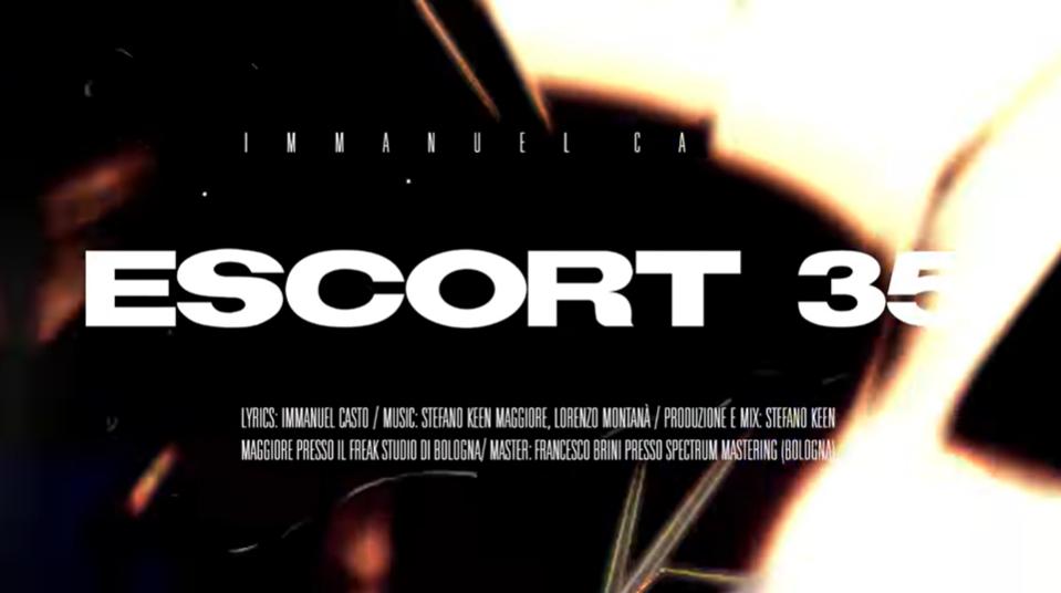 Escort 35: Immanuel Casto rilascia il lyric video che celebra i 10 anni della sua hit