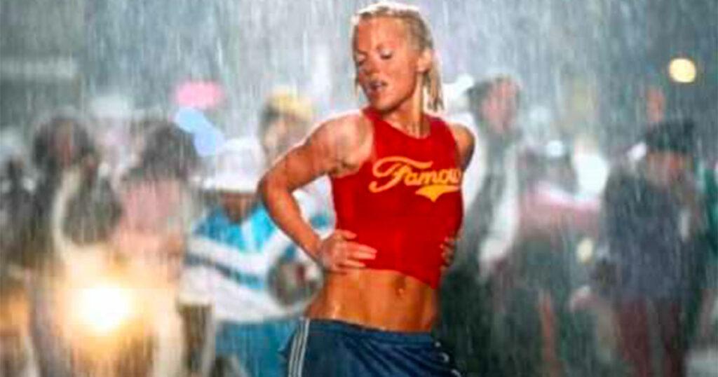 It's Raining Men diventa It's Raining Them: il remix inclusivo nelle storie di Geri Halliwell